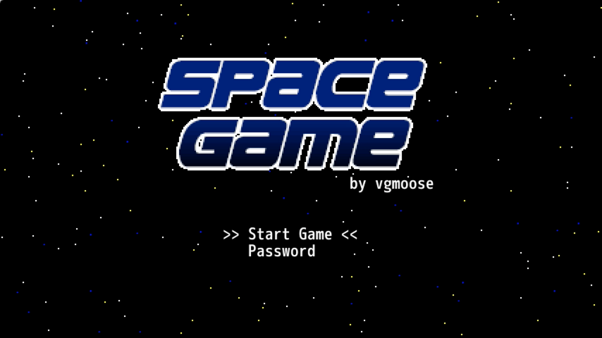 release space game for wii u